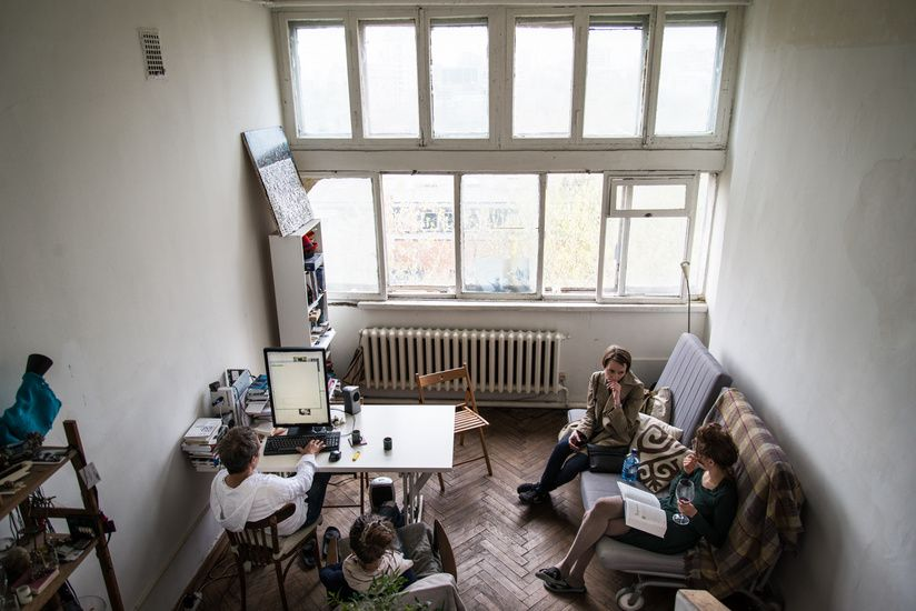 Spinelli Mobili ~ Apartment in narkomfin documentary by luciano spinelli and