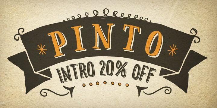 Font dňa – Pinto (zľava 20%, od 0€) - http://detepe.sk/font-dna-pinto-zlava-20-od-0e/