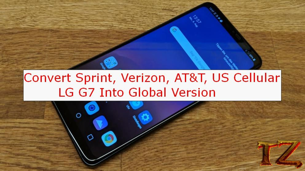 Convert Sprint At T Verizon Us Cellular G7 Into Global Version
