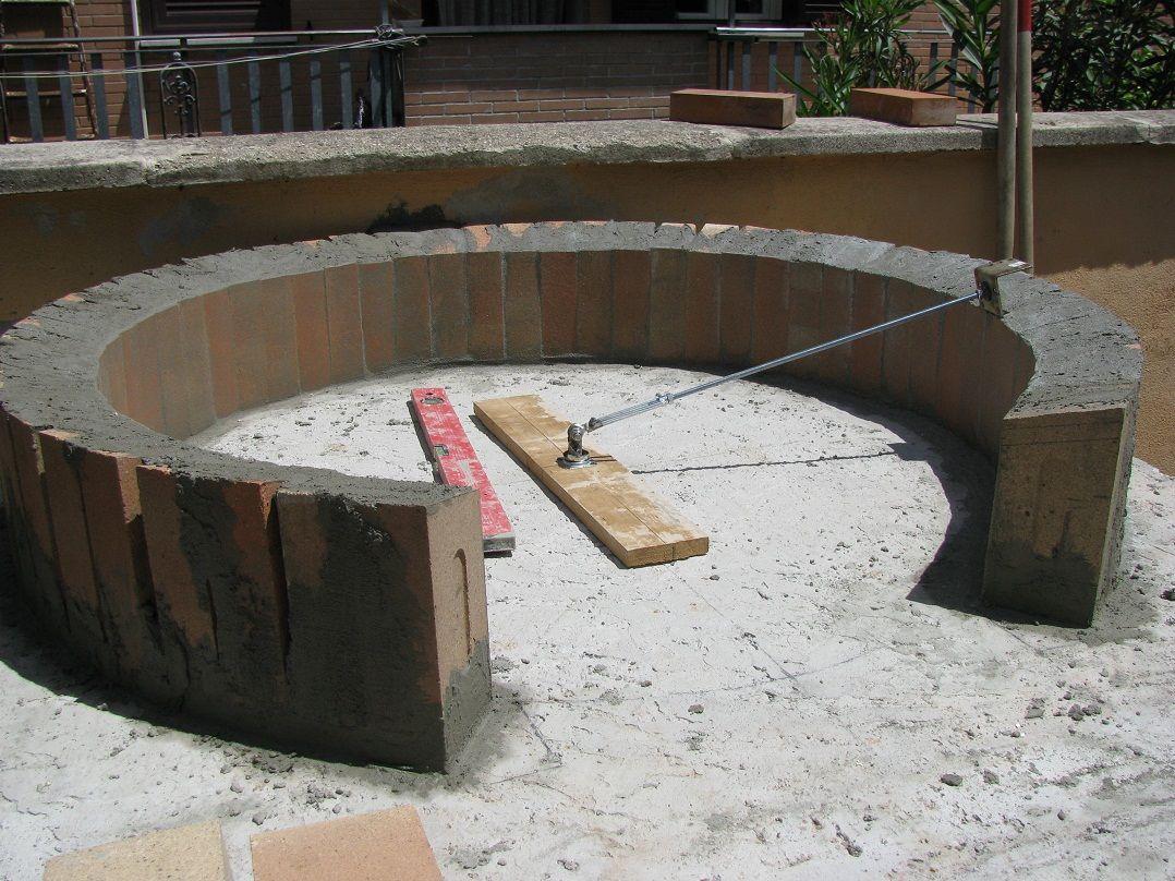 Costruzione forno a legna possibilmente economico for Forno a legna in mattoni refrattari