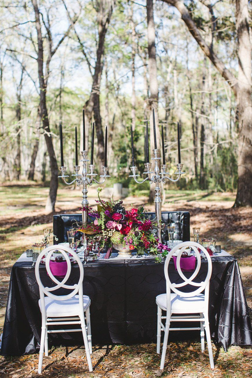 Daring Dark Florals For a Gothic Wedding Theme   CHWV ...