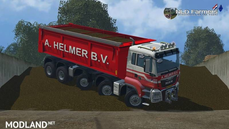 MAN A Helmer B V  v 1 1 mod for Farming Simulator 2015 / 15 | FS, LS