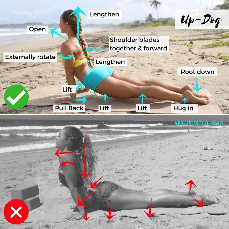 How to do Upward Facing Dog