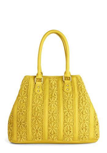 Bolso amarillo accesorio