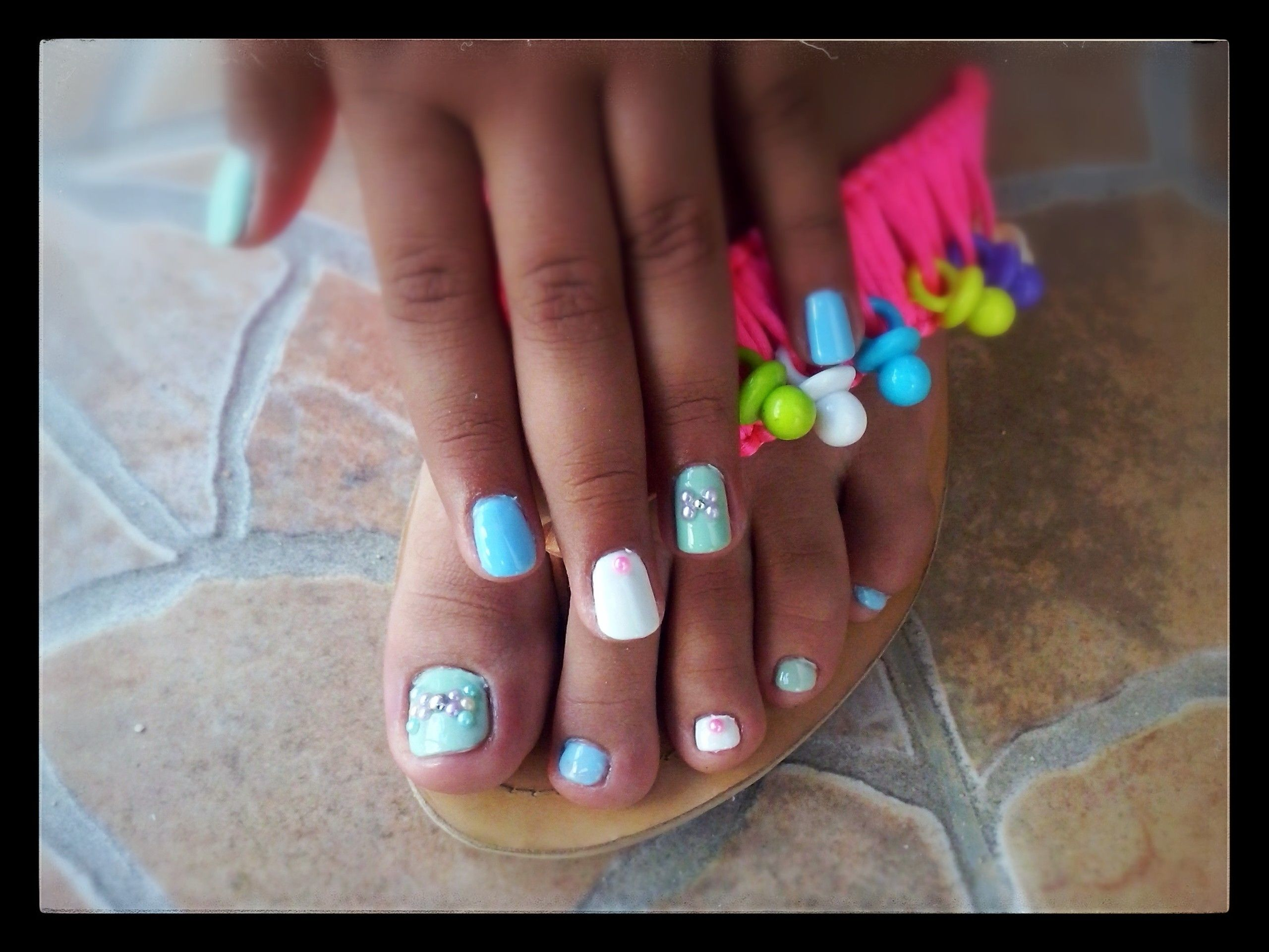 Nail S For Sweet Girl 11 Years Old Nails Sweet Girls Womens Flip Flop