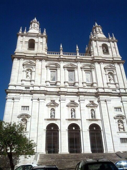 Igreja São Vicente de Fora in Lisbon