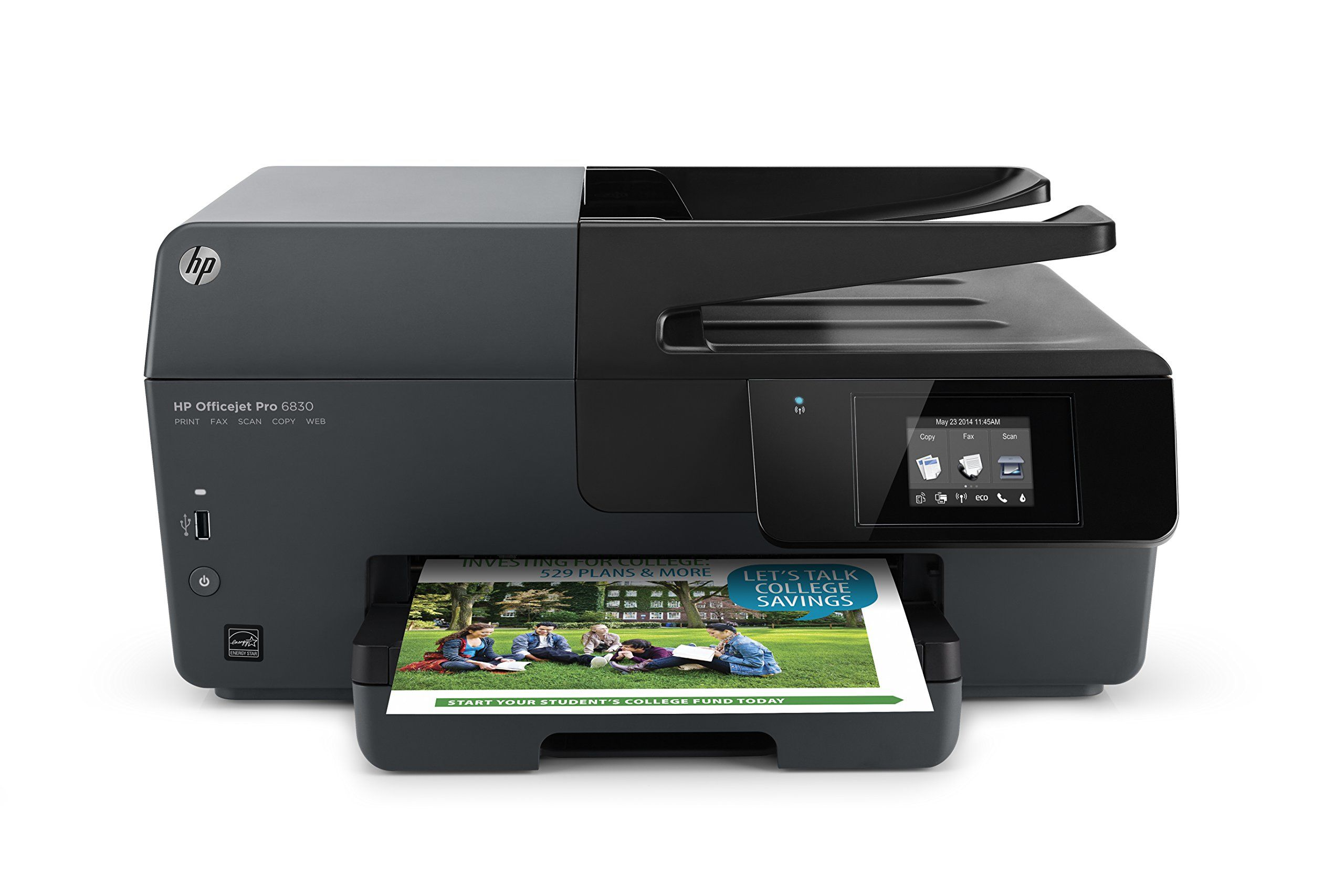 Amazon HP ficejet Pro 6830 Wireless All In e Inkjet Printer E3E02A B1H Electronics