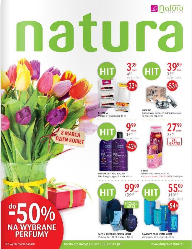 Drogerie Natura Na Dzien Kobiet Http Www Promocyjni Pl Siec 23 Drogerie Natura Art Shopping