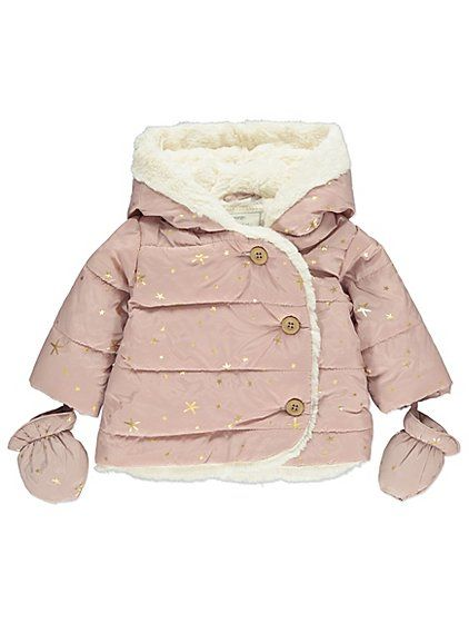 63efaa019 They ll feel so cosy and look extra-cute wearing this padded coat in ...