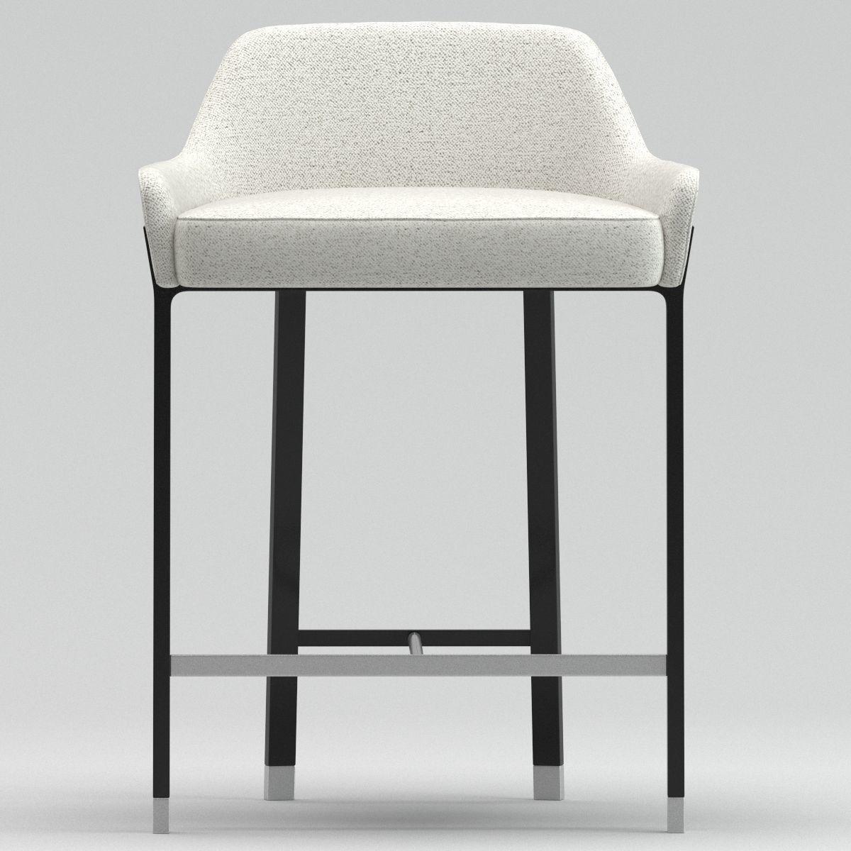 Awesome Blink Counter Stool Sh610 Stellar Work 3D Model Max Obj Machost Co Dining Chair Design Ideas Machostcouk