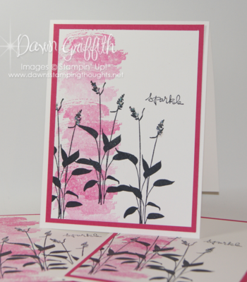Work of Art - Stampin' Up! - Dawn Griffiths