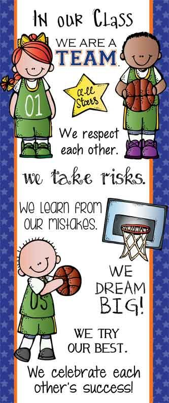 Basketball Classroom Decor Large Banner In Our Class With