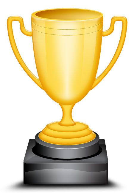 trophy template free high resolution gold trophy cup icon in a
