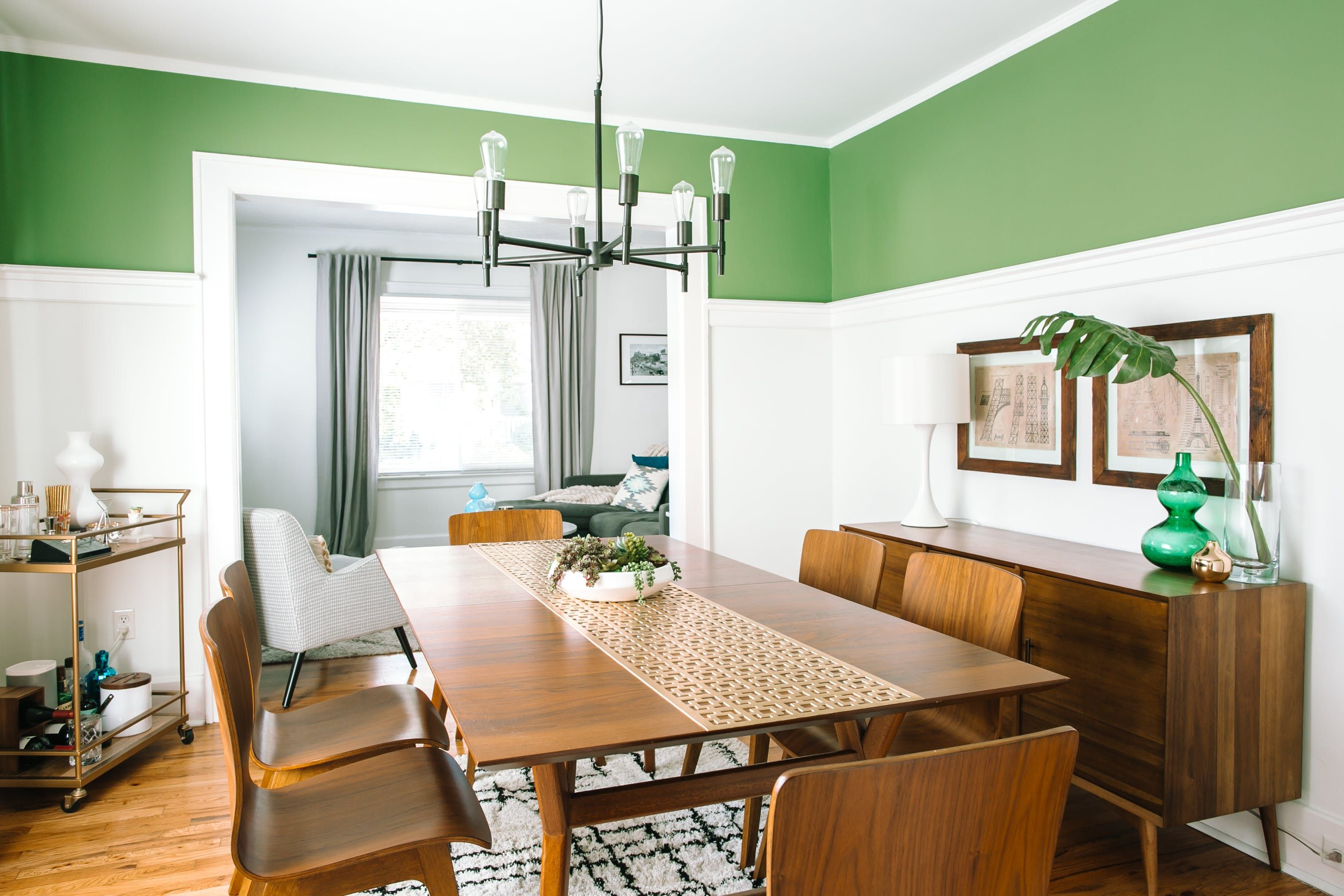 Tour a First Time Home Buyer s Colorful Retro Reno