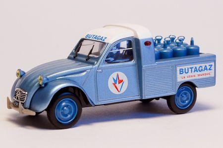 Citroen 2cv Pick Up Butagaz Schaal 1 43 Uitgever Norev Bouwjaar 1964 Asturiano