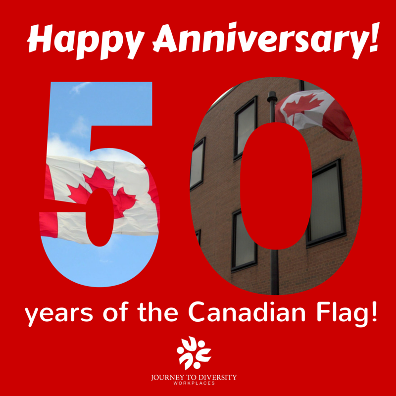 Happy 50th Anniversary to the Canadian Flag! Flag50