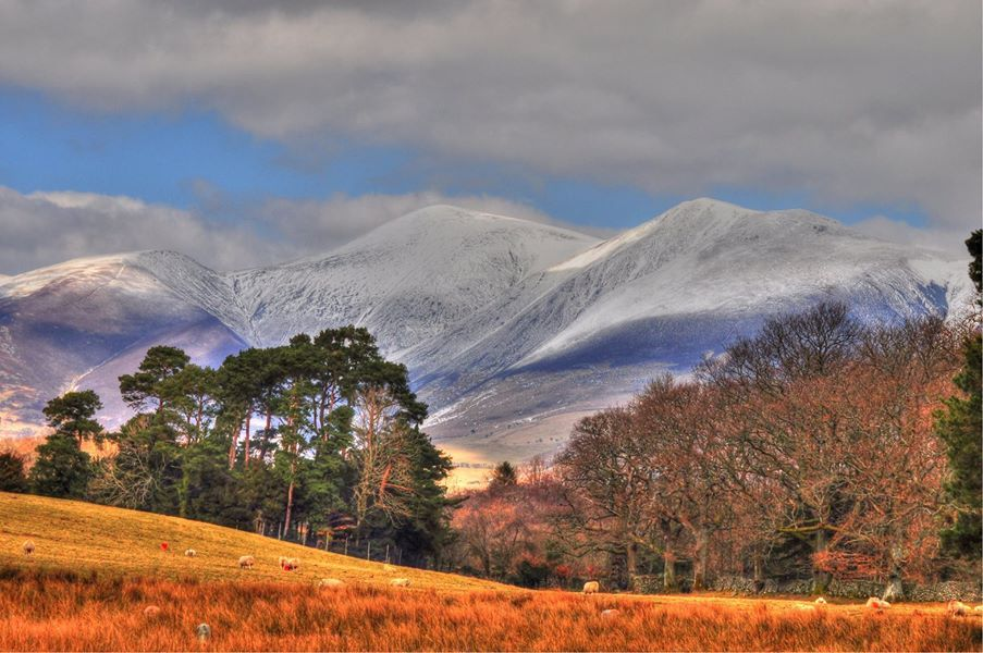 Ice Capped Skiddaw