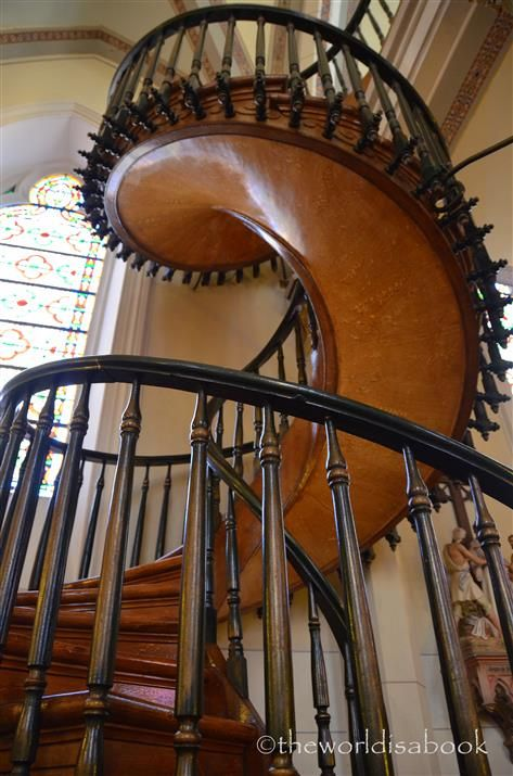 Best Miraculous Stairway Of Loretto Chapel Santa Fe With 400 x 300