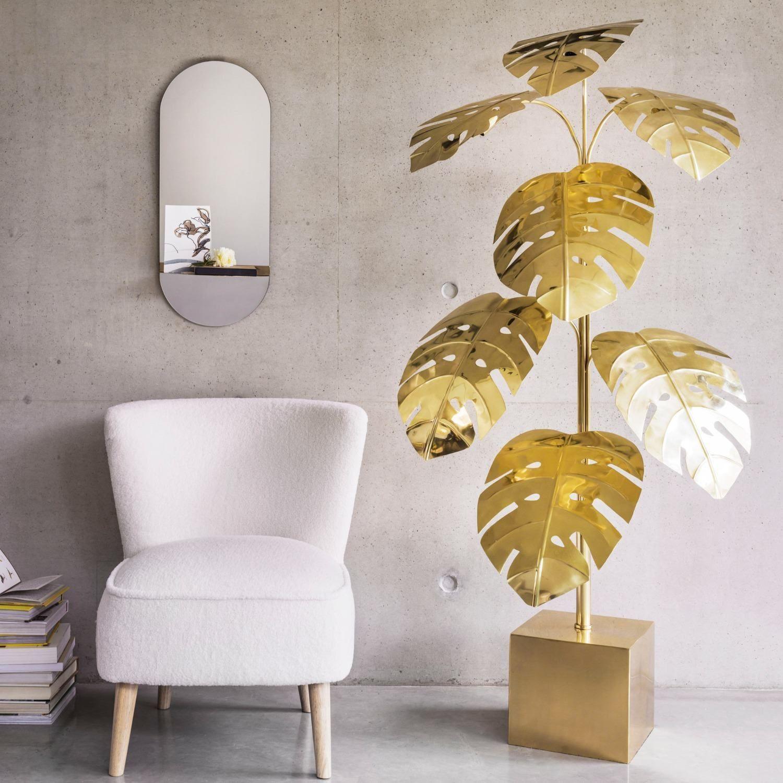 Monstera Brass Floor Lamp Graham Green Brass Floor Lamp Floor Lamp Lamp
