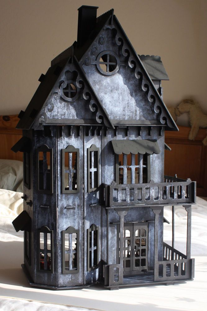 Details About 1 12 Scale Gothic Witches Spooky Haunted