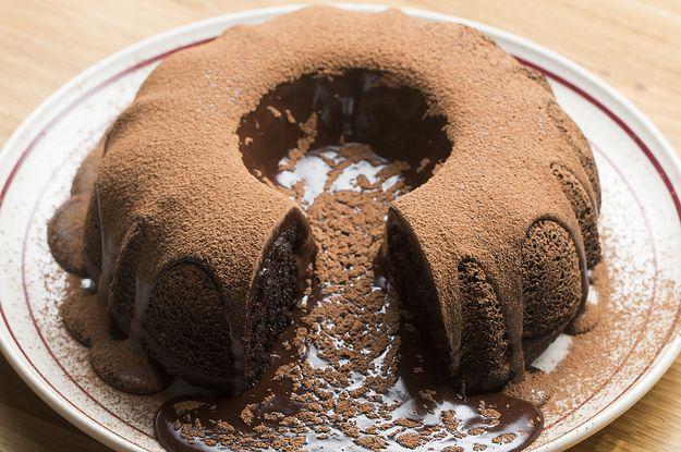 Giant Molten Chocolate Box Cake Recipe By Tasty Recipe Molten Chocolate Cake Lava Cakes Molten Chocolate
