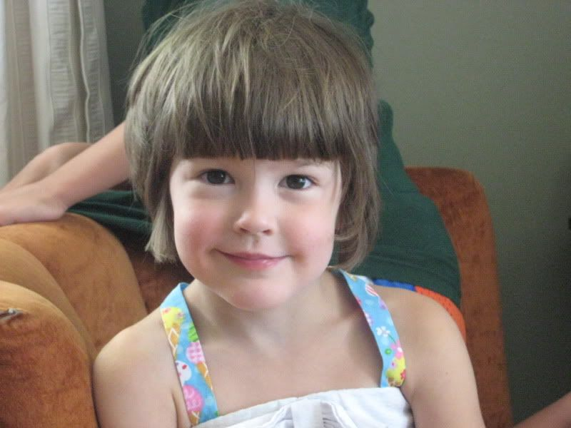 Short Bob Haircuts For Little Girls