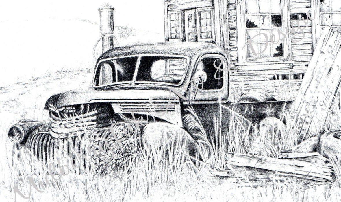 Printable 1946 Chevy Pickup Truck Printable Art 46 Chevy Etsy In 2020 Chevy Pickup Trucks 1946 Chevy Truck Chevy Trucks Older