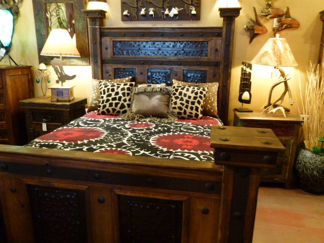 Hacienda Hammered Iron Bed by The Rustic Gallery of San ...