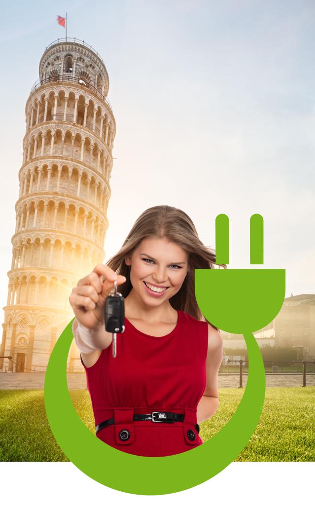 Vi forniamo una breve descrizione delle tre modalitàcon le quali potete prendere in carico un veicolo elettrico offerto dal servizio Share 'N Go.