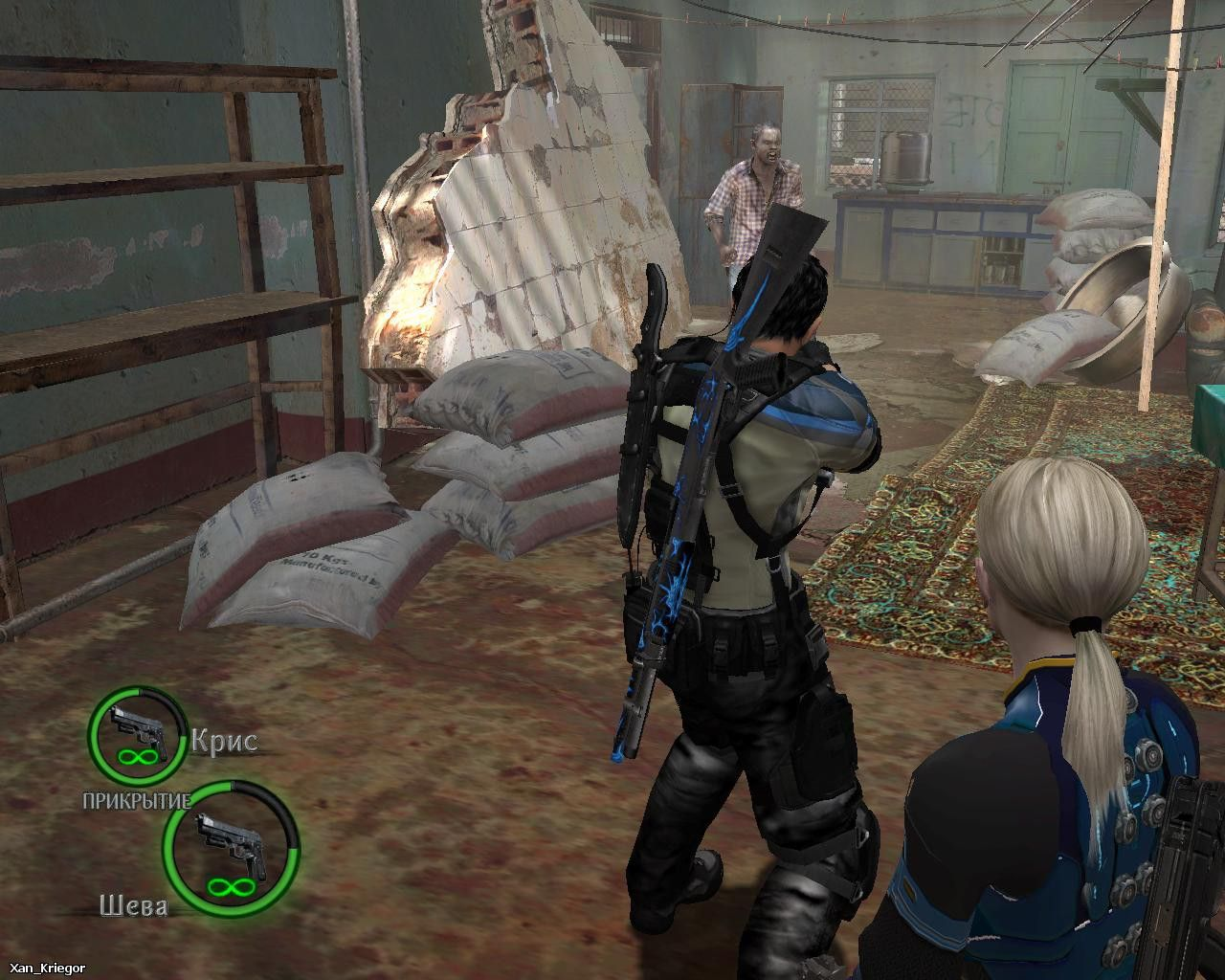 Chris BSAA New Moves / Screen 003 / Mods for Resident Evil 5