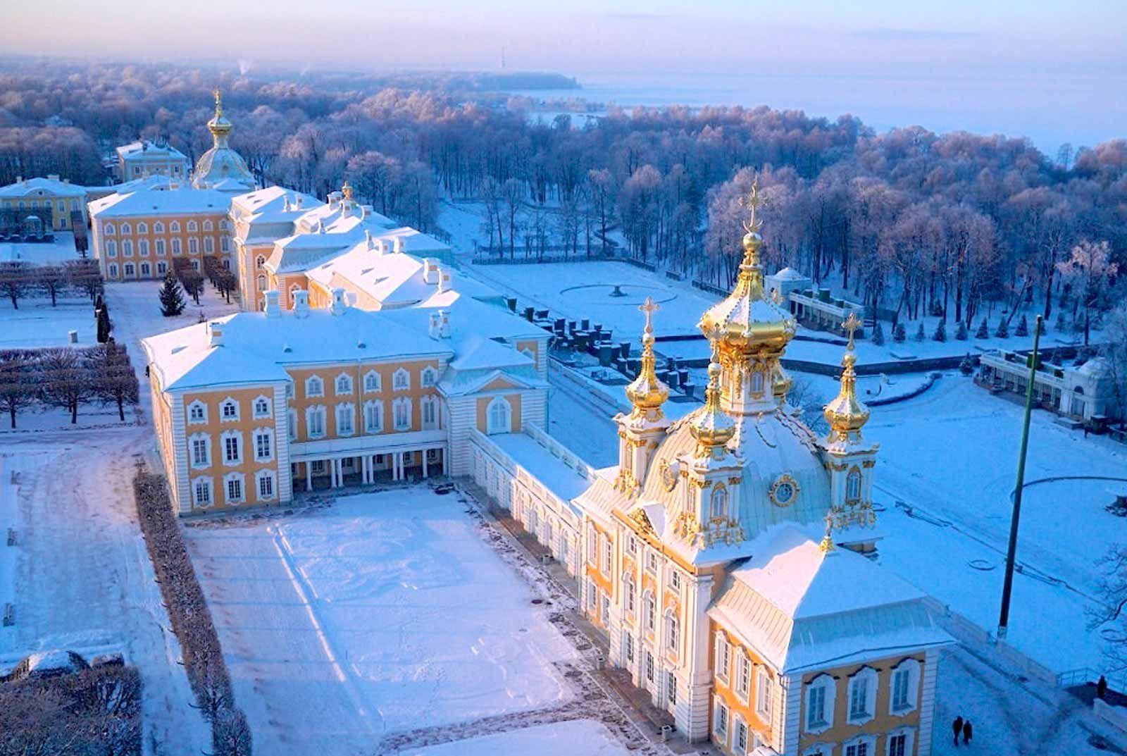 Saint-Pétersbourg en Hiver - Exlinguo, St Pétersbourg | Citys ...