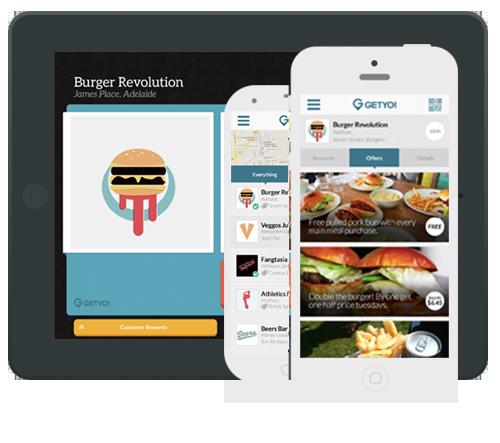 Customer Loyalty & Rewards App GetYo! (With images