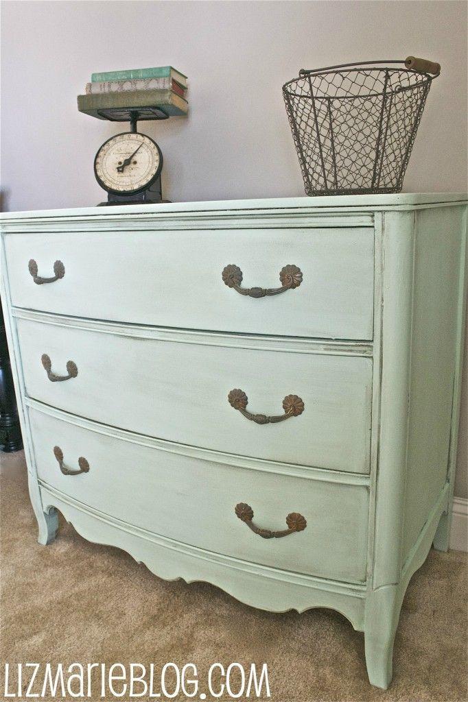 A Minty Fresh Dresser Mint Green Dresser Green Dresser Mint Paint