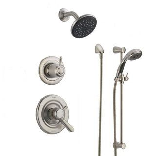 Elegant View The Delta DSS Lahara 1701 Monitor 17 Series Dual Function Pressure  Balanced Shower