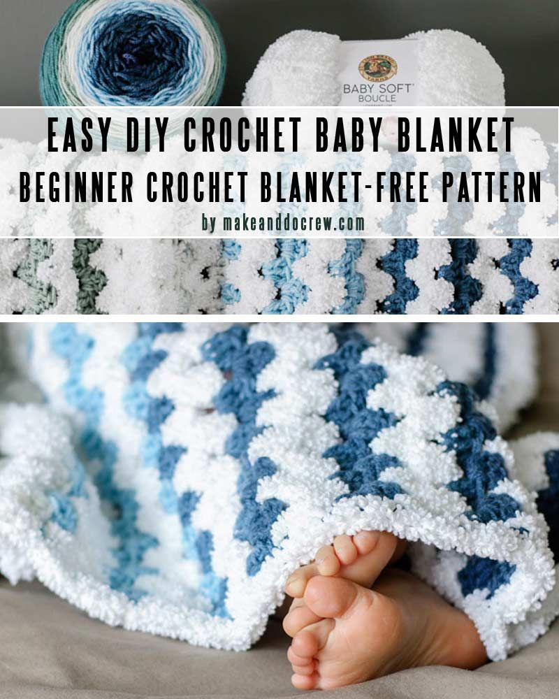 Easy Free Crochet Baby Blanket Patterns You Can Finish In A Weekend Craft Mart Baby Boy Crochet Blanket Easy Crochet Baby Blanket Baby Girl Crochet Blanket