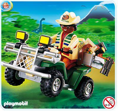 4176 Explorador Con Quad Exploradores Playmobil Ciudades