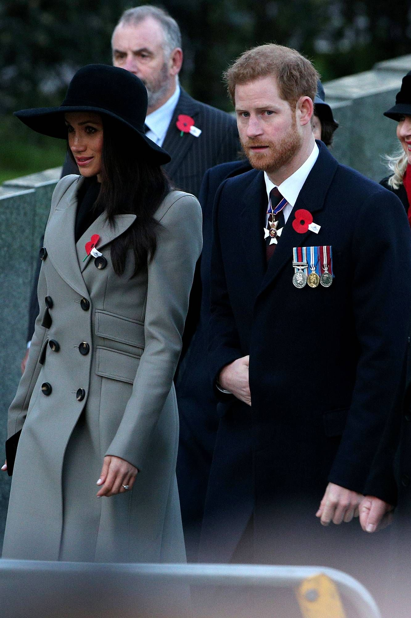 Somber Morning for Prince Harry and Meghan Markle as They