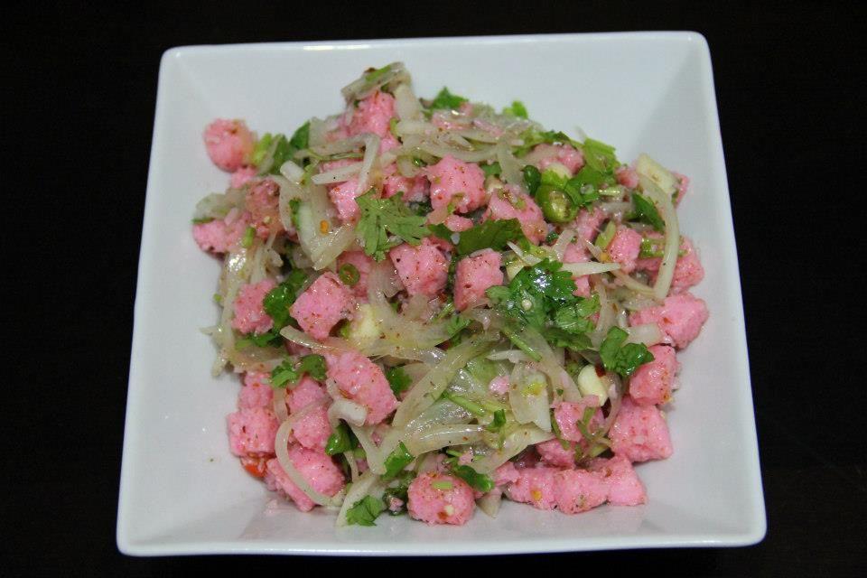 Pickled Prawn Salad Pazun Gyin Thoke Burmese Food Asian Cooking Cuisine