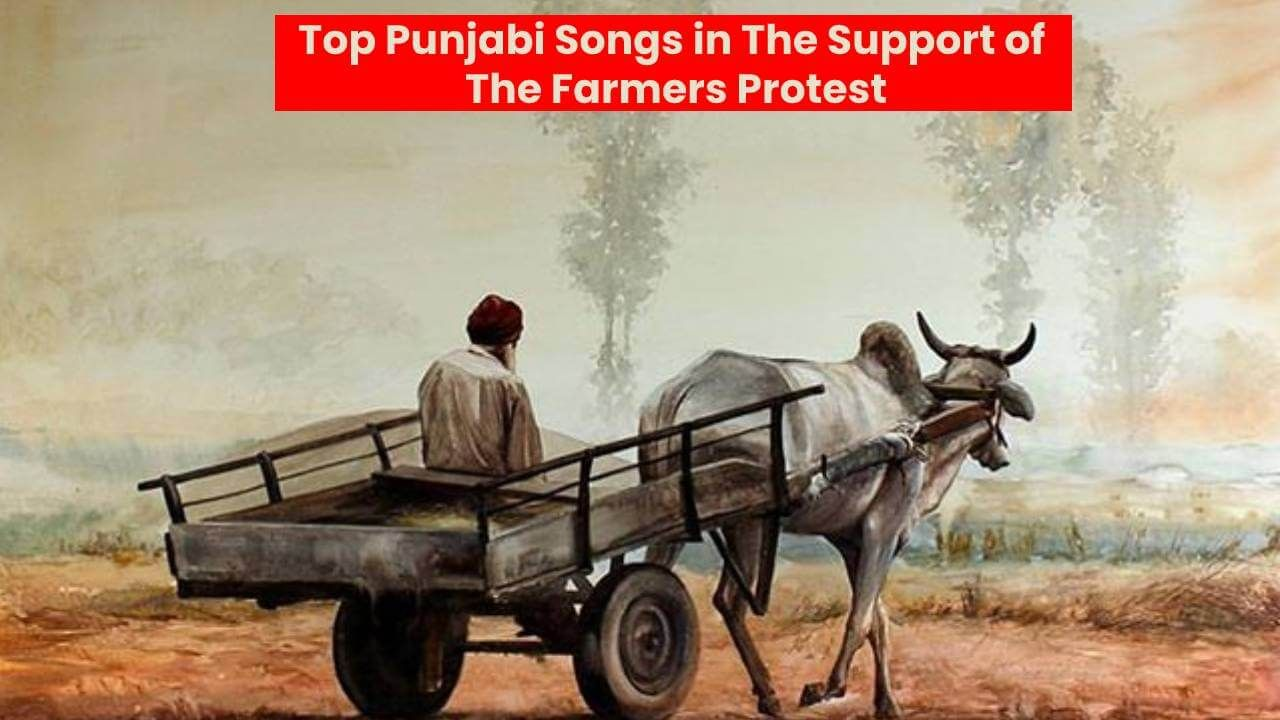 Top 10 Punjabi Songs In The Support Of The Farmers Protest Farmer Painting Draw On Photos Art Village