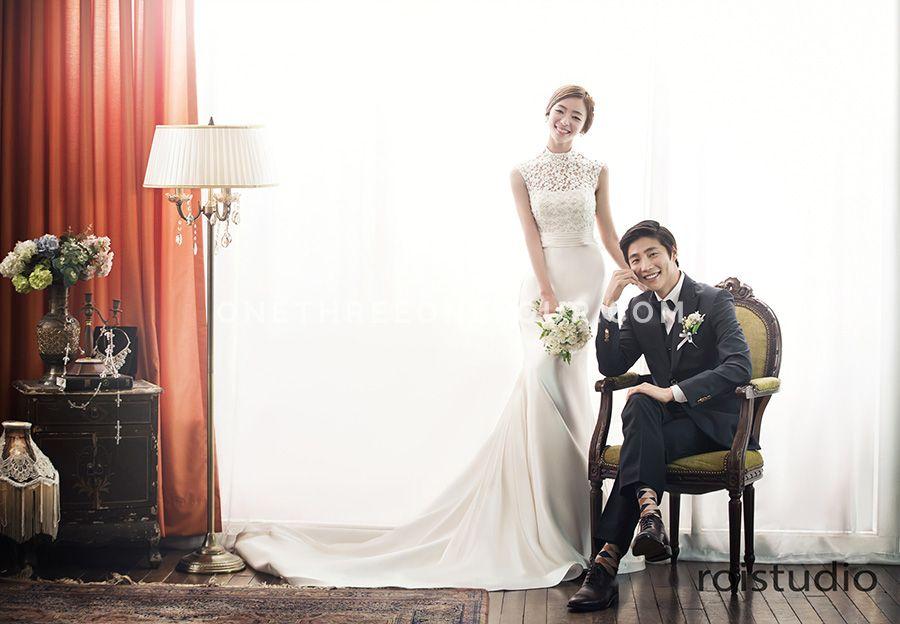 Korean Wedding Studio Photography Vintage European Set
