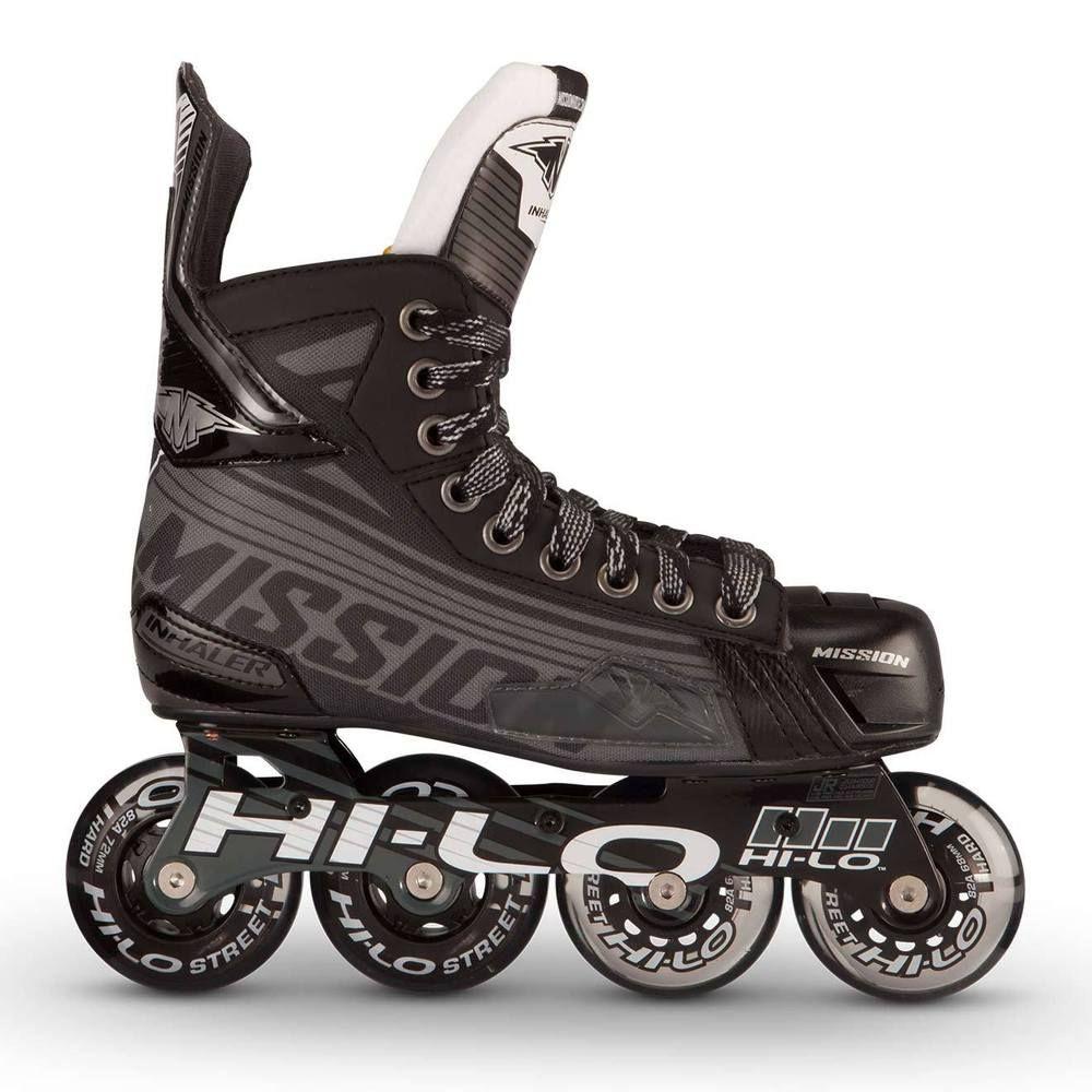 Bauer Mission Inhaler Ds7 Hockey Skate Bauer Roller Hockey Skates Roller Skates Inline Hockey