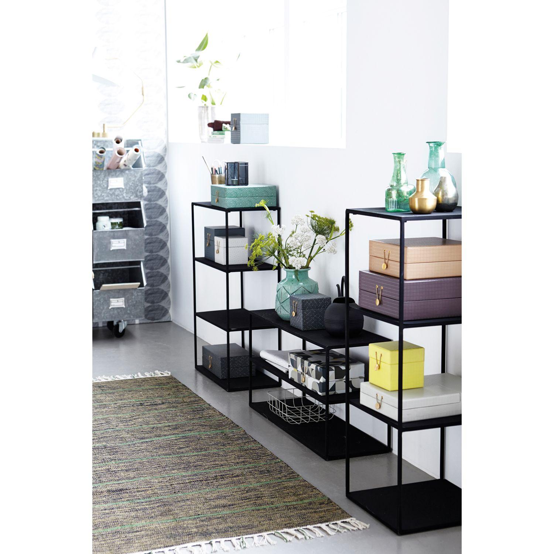 Rack Model B hylly, musta – House Doctor – Osta kalusteita verkossa osoitteessa ROOM21.fi