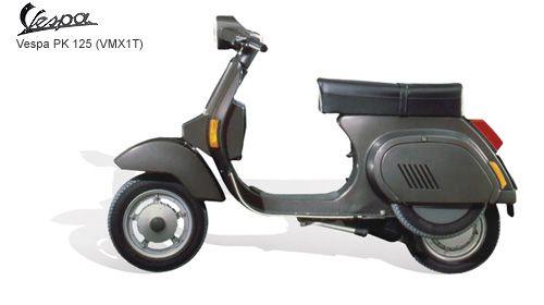vespa 125 xl pk