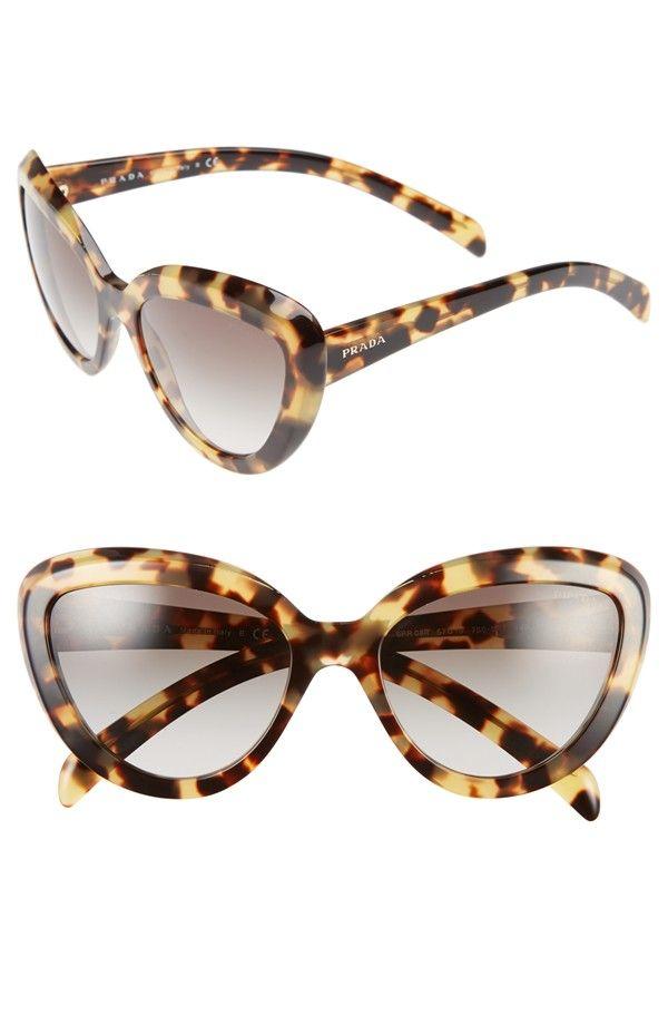Prada Tortoise Cat Eye Sunglasses | Accessories | Pinterest | Gafas ...