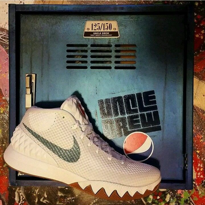283d5056bcb1 Pepsi x Nike Kyrie 1 Uncle Drew Kit Size 10.5  Drew  BasketballShoes ...