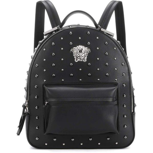 d0819799a8 Versace City Stud Palazzo Empire Backpack (2 430 CHF) ❤ liked on Polyvore  featuring bags