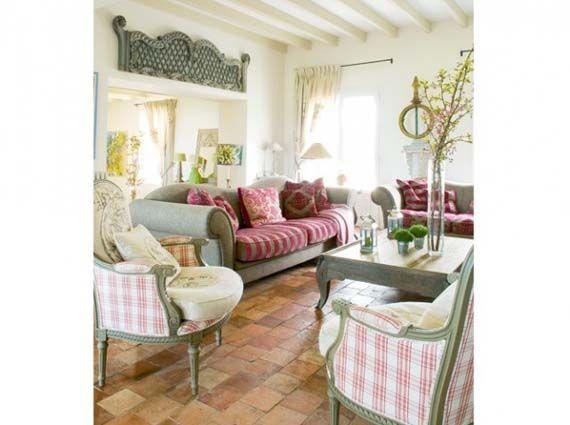 Casa de campo con decoraci n provenzal r stica provenzal - Decoracion francesa provenzal ...
