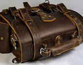 Items similar to Leather Briefcase 12inches by Marlondo Leather on Etsy