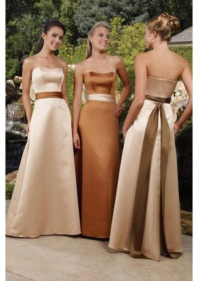b1289975863 i love these bridesmaids dresses they will go perfect with the burnt  orange  red theme