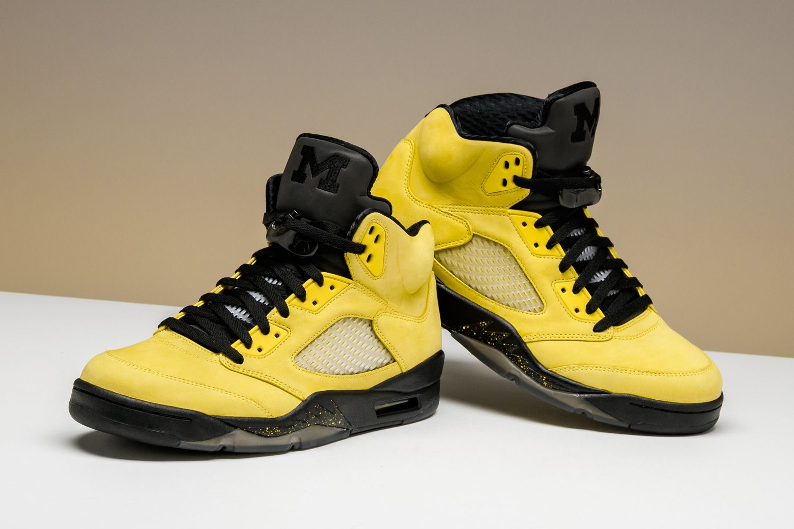 newest 6134b 00c2d Jordan Brand celebrates its partnership with University of Michigan with  this